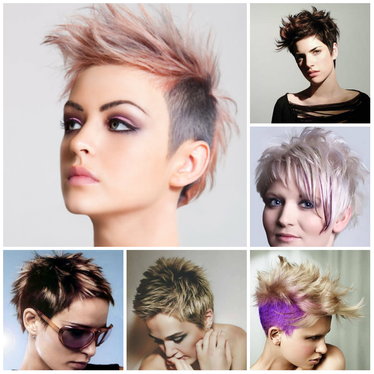 spiky-hairstyles-for-women-2016